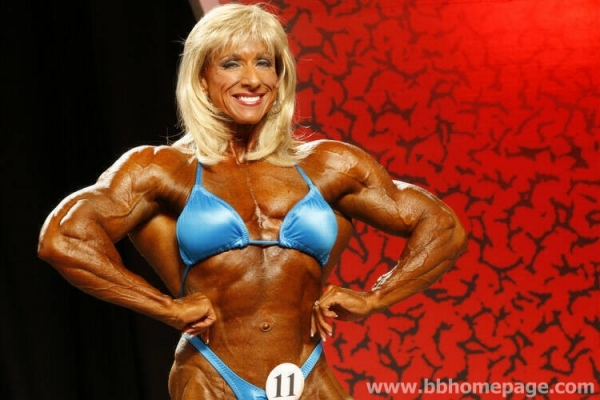 Betty Pariso al Ms Olympia 2006