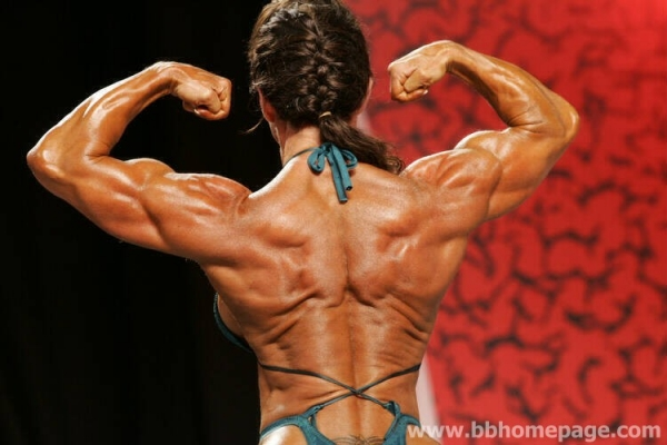 Gayle Moher al Ms Olympia 2006