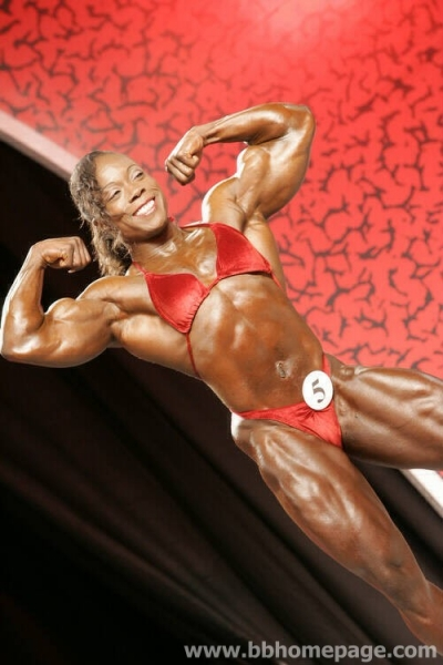 Heather Foster al Ms Olympia 2006