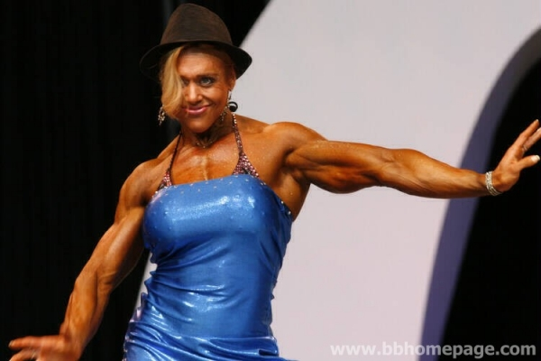 Colette Nelson al Ms Olympia 2006