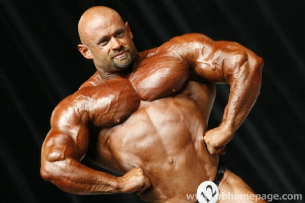 Branch Warren al Mr Olympia 2006
