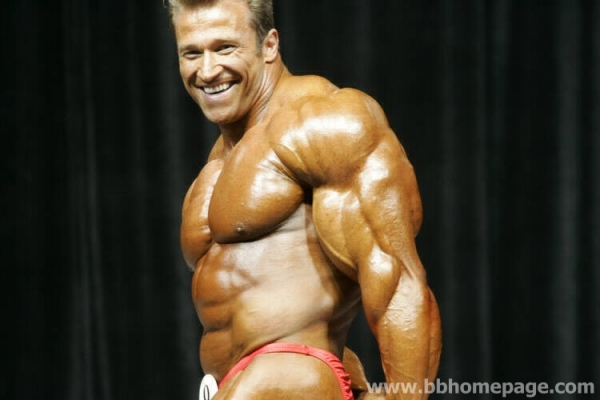 Gunter Schlierkamp al Mr Olympia 2006