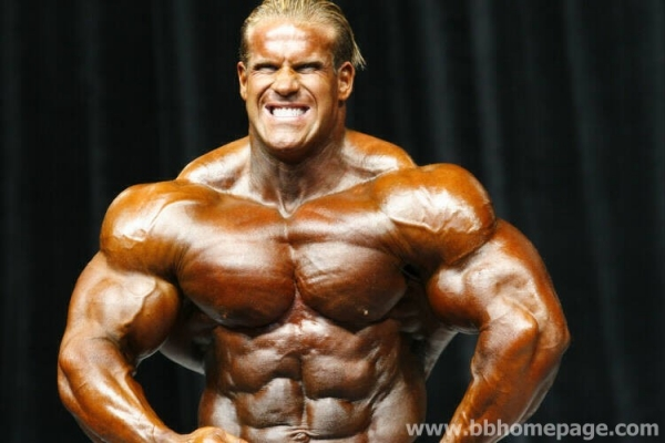 Jay Cutler al Mr Olympia 2006