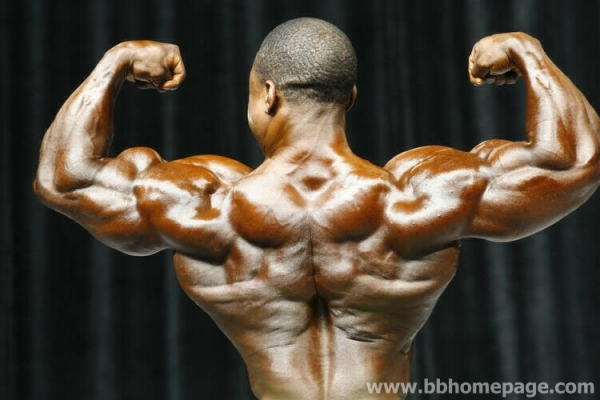 Melvin Anthony al Mr Olympia 2006