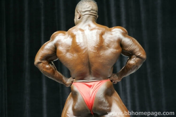 Rodney St. Cloud al Mr Olympia 2006