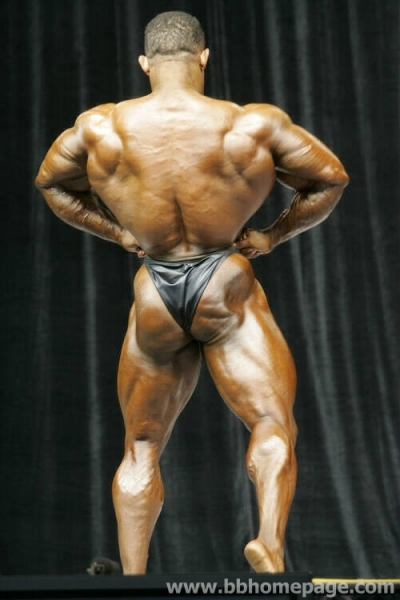 Troy Alves al Mr Olympia 2006