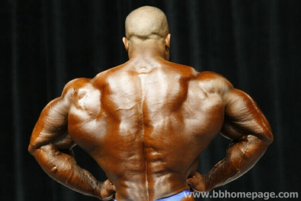 Victor Martinez al Mr Olympia 2006