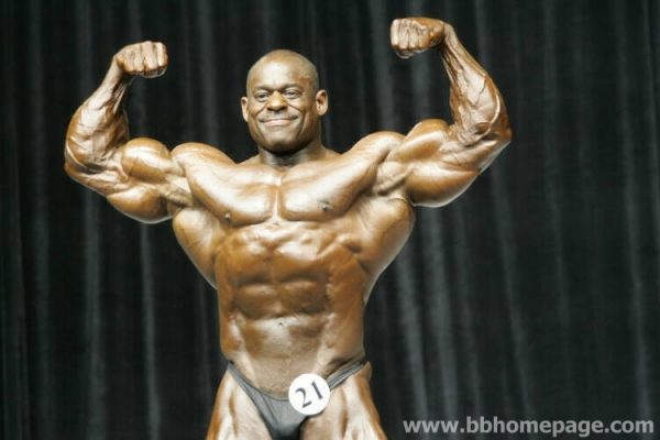 Vince Taylor al Mr Olympia 2006