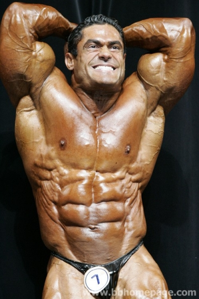 Gustavo Badell  Arnold Classic 2007