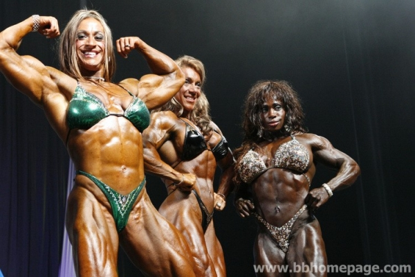 Confronti Arnold Classic 2007 - Ms International