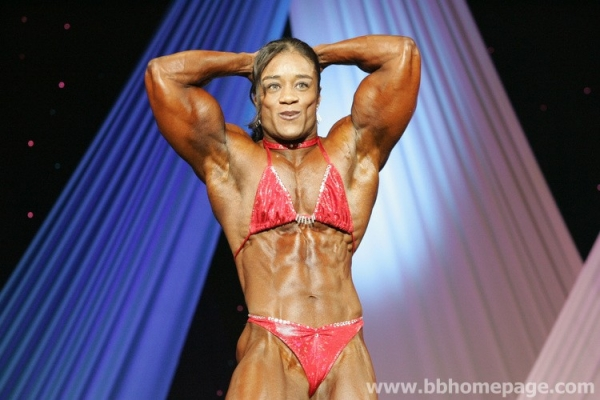 Kim Perez  Arnold Classic 2007