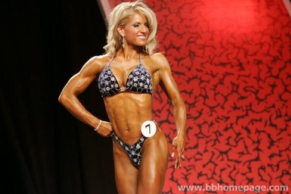 Michelle Flake Figure Olympia 2006