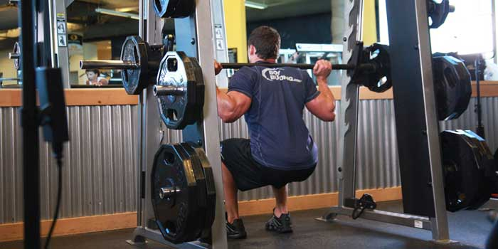 Squat al Multipower
